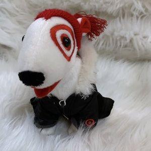 Vintage Target dog plush spot dog